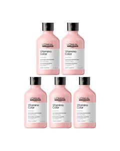10x L'Oréal Serie Expert Vitamino Shampoo 300ml