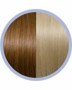 Seiseta Microring Extensions - 50cm - natural straight - #27/140