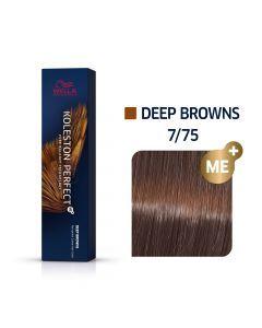 Wella Koleston Perfect ME+ Deep Browns 7/75 60ml