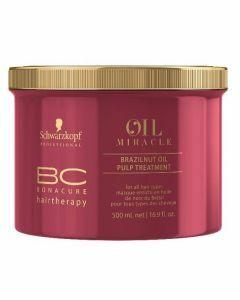 Schwarzkopf Brazilnut Oil Pulp Treatment 500ml Outlet  500ml