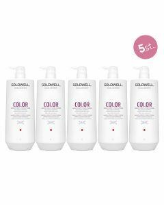 5x Goldwell Dualsenses Color Brilliance Shampoo 1000ml