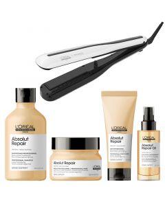 L'Oréal Steampod 3.0 + Absolut Repair Gold set