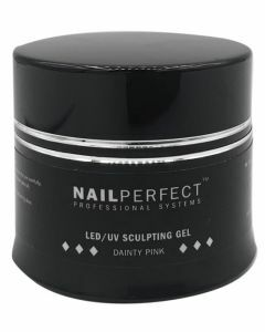 NailPerfect LED UV Sculpting Gel Dainty Pink