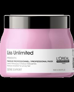 L'Oréal Serie Expert Liss Unlimited Masker  500ml
