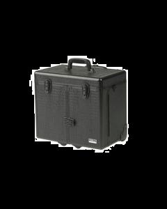 Sinelco Opbergkoffer met trolleysysteem zwart