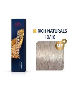 Wella Koleston Perfect ME+ Rich Naturals 10/16 60ml