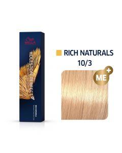 Wella Koleston Perfect ME+ Rich Naturals 10/3 60ml