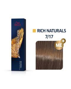 Wella Koleston Perfect ME+ Rich Naturals  7/17 60ml