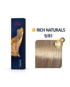 Wella Koleston Perfect ME+ Rich Naturals  9/81 60ml