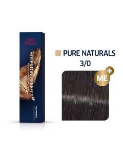 Wella Koleston Perfect ME+ Pure Naturals 3/0 60ml