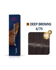 Wella Koleston Perfect ME+ Deep Browns 4/75 60ml