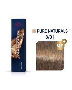 Wella Koleston Perfect ME+ Pure Naturals 8/01 60ml